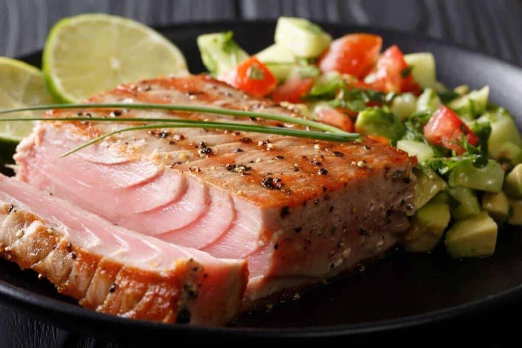 Grilled tuna recipe