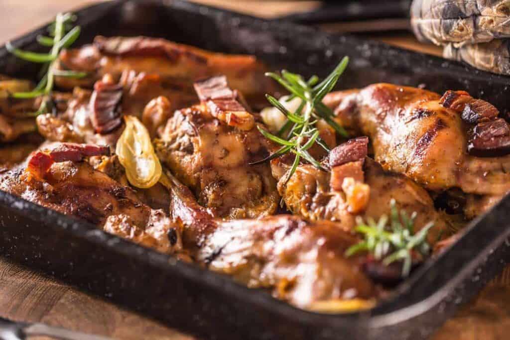 roasted roasted rabbit