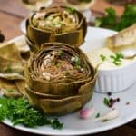 Roasted artichoke recipe