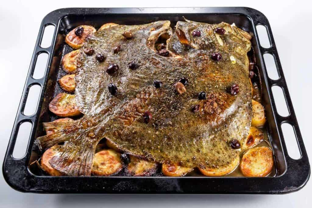 Baked Turbot recipe