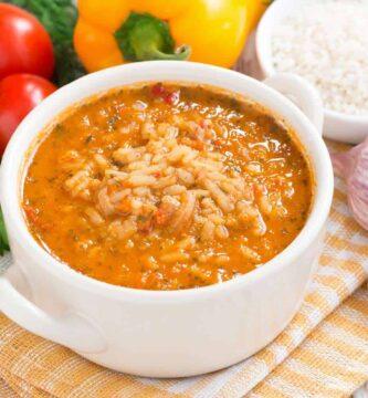 Soupy Rice