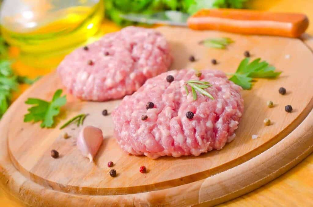 hamburger meat